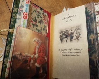 Vintage Holiday Journal Pack #1