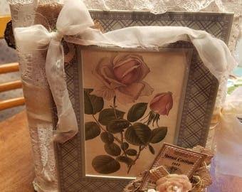 Softcover Secret pockets Rose Journal