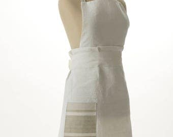 Full White Apron- Ready to Ship