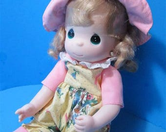 Precious Moments Birthday Blessings Collector Doll Baby Doll  Girl Toy