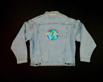 Vintage Hardrock Denim Jacket