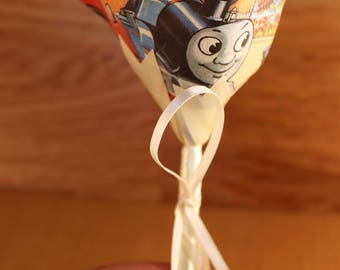Thomas the Tank Engine Buttonhole, Rose Boutonniere, Wedding Day Rose, Paper Flower, Pageboy, Groomsman, Usher, Father of the Bride.