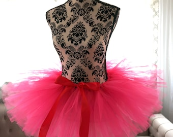 Adult Tutu - Hot Pink Tutu - Women's Tutu