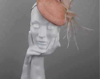Dramatic hat suitable for Ascot, Dubai World Cup, The Curragh, Cheltenham Races,Melbourne Cup, wedding guest