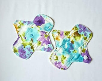 Set of 2 Reusable Cloth Panty Liners - 6""
