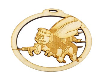 Personalized Seabee Ornament - Navy Seabee Ornament - Gift for Seabee