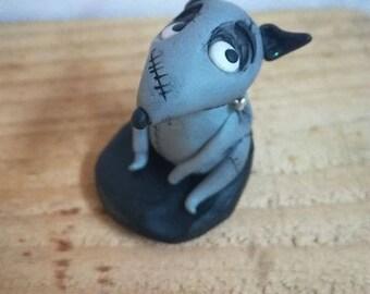 Frankenweenie - statuette tribute to Tim Burton FREE SHIPPING