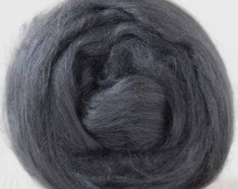 Tussah Silk Tops from DHG - Storm - 2 oz