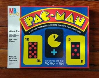 1982 Pac-Man Card Game