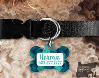 Custom Dog Tag for Dogs Dog ID Tags Personalized Pet Gifts Leaf Pet Tag Pet Tags Pet ID Tag Pet id Tags for Dog Tag ID Dog Tag Dog Tags