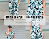 The Marla Jumpsuit, Top and Dress