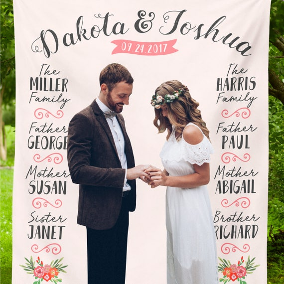 Rustic Wedding Backdrop, Custom Wedding Photo Booth Chalkboard, Wedding Photo Booth Backdrop,Wedding Reception Banner,Engagement Party Decor