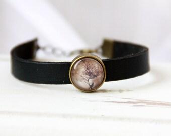 Bracelet, leather bracelet, bracelet, leather bracelet, leather bracelet black, black bracelet, gothic bracelet