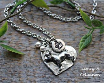 French Bulldog Necklace, French Bulldog Jewelry, French Bulldog Gift, Frenchie Jewelry, Read full listing details