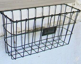 Storage Basket, Wire Storage Basket, Wall Basket, Wire Wall Basket, Hanging Basket, Hanging Wall Basket, Wall Organizer, Wall Storage