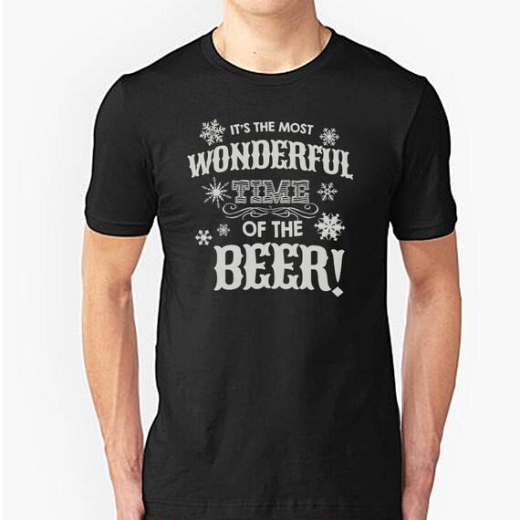 Christmas beer lovers t-shirt