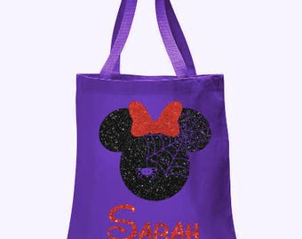 halloween personalized halloween bags candy bags trick or treat halloween bags - Halloween Handbag