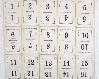 Vintage Table Number