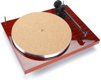 """New Turntable Toys TC-8 Cork Turntable Mat Audiophile + Anti-Static (1/8"""") thick ( International Shipping )"""