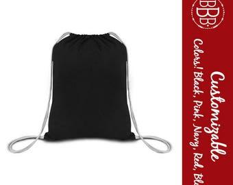 Drawstring Sport Bag, Backpack, Blank to customize with monogram or artwork, Sport, Outdoors, Bridesmaid, Groomsmen, Bulk Discount