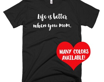 New Mom Shirts, Mom Shirt, Mother T-Shirt, Mom Tee, Mom Gift, Mother Shirts, New Mom Gifts, Mother Tops, Baby Shower Gifts, New Mom, Mom