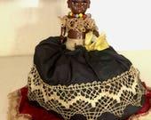 "Black island girl ""double doll"" Black Americana"
