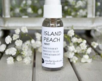Peach Scented Room Spray, Air Freshener, Car Freshener, Linen Spray, Aromatherapy, Gift For Her, Birthday Gift, Home Gift, Fragrance Oils