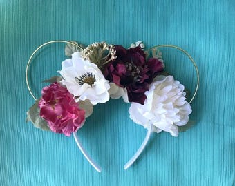 Beautiful Day Floral Wire Ears