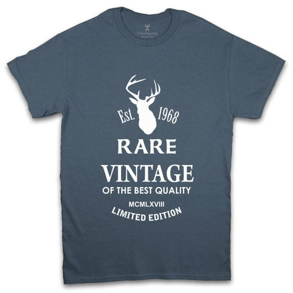 50th Birthday Gift For Men hunting gifts for men hunting stag head hunting tshirts t shirts stag head deer head rare vintage any year