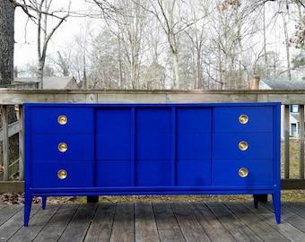 PORTFOLIO: Cobalt Blue Credenza