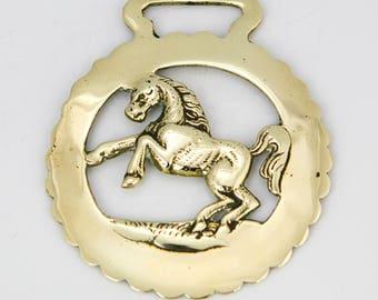 Vintage Horse brass  – Horse design