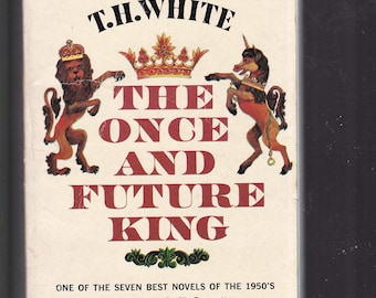The Once And Future King byT H White.. 1961 Dell Paperback In Good Vintage Condition*.