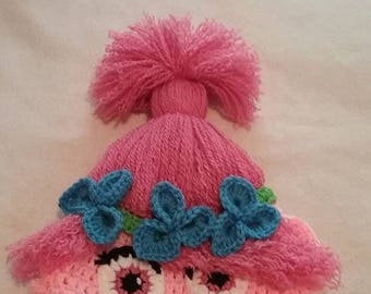 Poppy the Troll Hat - Made to Order