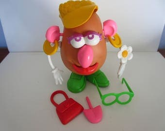 Vintage Mrs. Potato Head Mrs. Potatoe Head Playskool Toy Classic Toy 1980's Toy