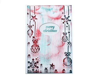 Handmade Christmas Cards, Christmas Greeting Cards, Holiday Cards, Xmas Cards