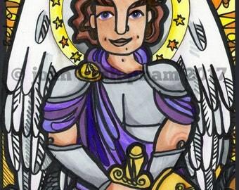 Saint Michael the Archangel: Gold