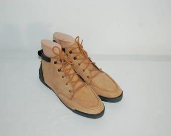 Women Size 7 BOKS Reebok Leather Boots / Hiking Boots / Walking Boots