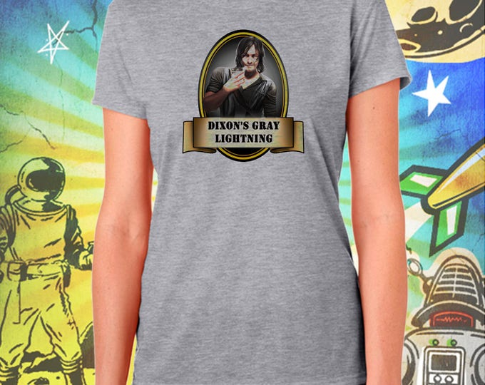 The Walking Dead / Current Daryl / Dixon's Slow Gray Lightning / Women's Zombie Gray Performance T-Shirt