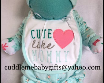 Baby Shower Baby Shower Gift Cuddle Me Babies are babies that are made of all baby items Baby Shower decoration Baby Girl Shower