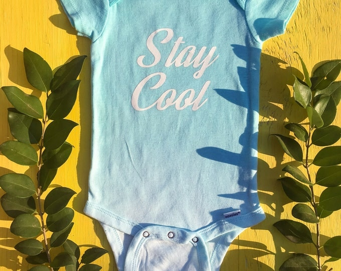 Stay Cool Onesie