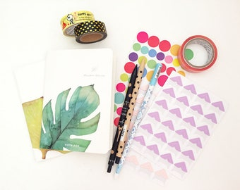 Mystery Grab Bag - Stationery Items (10 pcs + 1 mystery gift)  Korean Stationery Cute Kawaii Planner