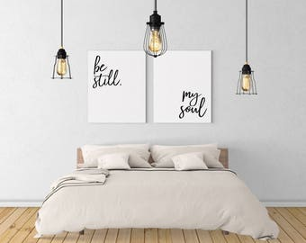 bedroom artwork.  Be still my soul Etsy