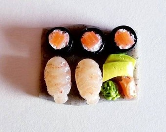 Sushi Japanese Food Platter Miniature