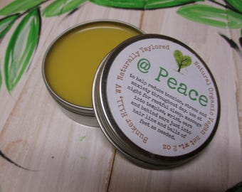 Anxiety Stress Reliever Vegan Organic Natural Stress Salve Natural Anxiety Natural Remedy Stress At Peace Anti Anxiety