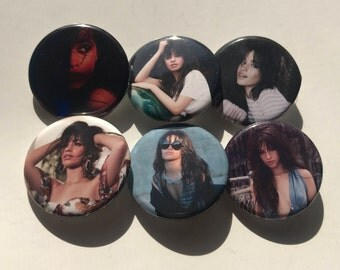 "1.25"" Camila Cabello Havana Pinback Pack Pins Buttons Badges"
