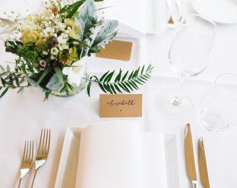 rustic wedding place cards table name cards escort cards tented or flat style