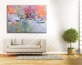Modern Art Abstract Painting Diptych Original Canvas