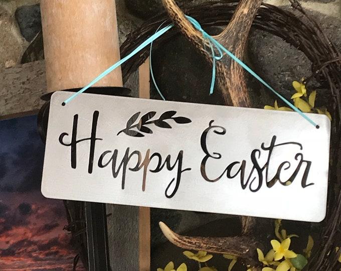 Easter Decor, Spring Decor, Farmhouse Decor, Rustic Signs, Rustic Metal Signs, Rustic Decor, Farmhouse Signs, Easter Farmhouse Signs