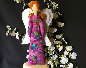 Guardian Angel Spirit, Cloth angel art doll,  Spiritual Doll, Art Doll, OOAK Angel doll. Angel art doll, Religious decor, Spirt Doll #7