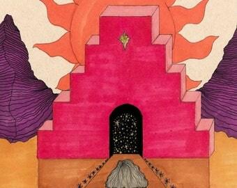 Sacred Portal  • Original Art Print